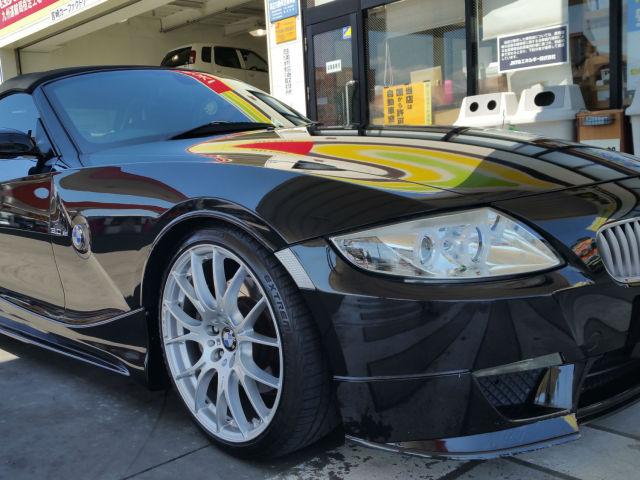 洗車傷消し効果の高いカーコーティング/スーパーゼウスをBMW/Z4に施工した評価・評判・おすすめ・レビュー・口コミ