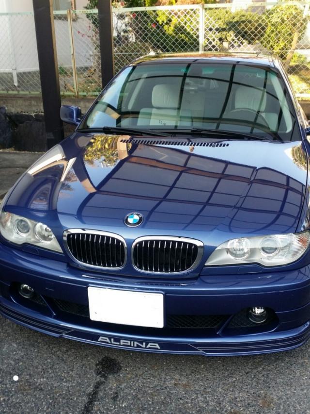 車のホイールに撥水・防汚性能に優れたホイールコーティングをBMW/アルピナB3Sクーペに施工した評判・人気・評価・レビュー・口コミ