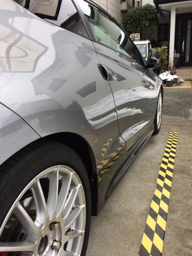 洗車で脱脂もでき下地処理に最適なカーシャンプー/クイックワン・シャンプーをホンダ/CR-Zに施工したコーティング評判・人気・口コミ