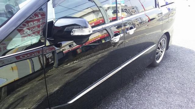 トヨタ/エスティマに洗車傷消し効果の高いカーコーティングスーパーゼウスを施工した評判・人気・評価・おすすめ・レビュー・口コミ