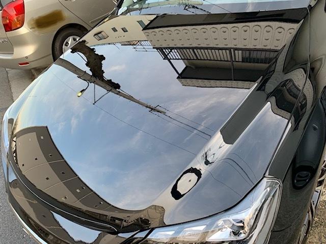 評判・人気の洗車傷消し効果に優れたカーコーティング/スーパーゼウスをトヨタ/マークX G'Sに施工したレビュー・口コミ