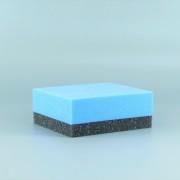 付属するコーティングスポンジは小さくカットしても使いやすい背板付きのコーティングスポンジで、施工性に非常に優れます