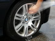 ガラスコーティング‐ハイブリッドナノガラス/ゼウスβが塗ってあるので水だけで洗車