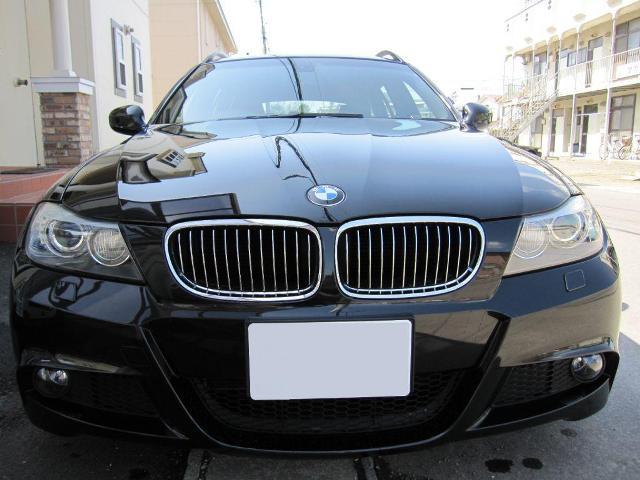 ガラスコーティング施工例  BMW 320i  ブラックパール