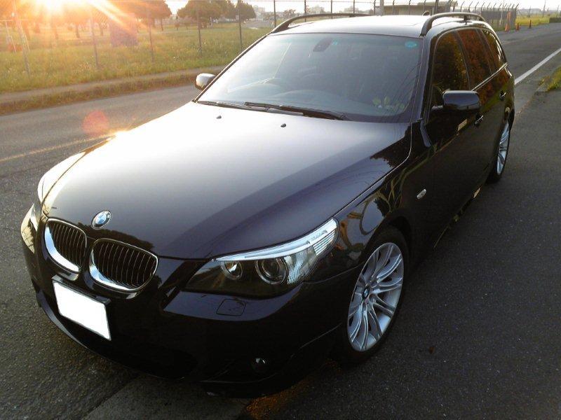 ガラスコーティング施工例  BMW5シリーズ