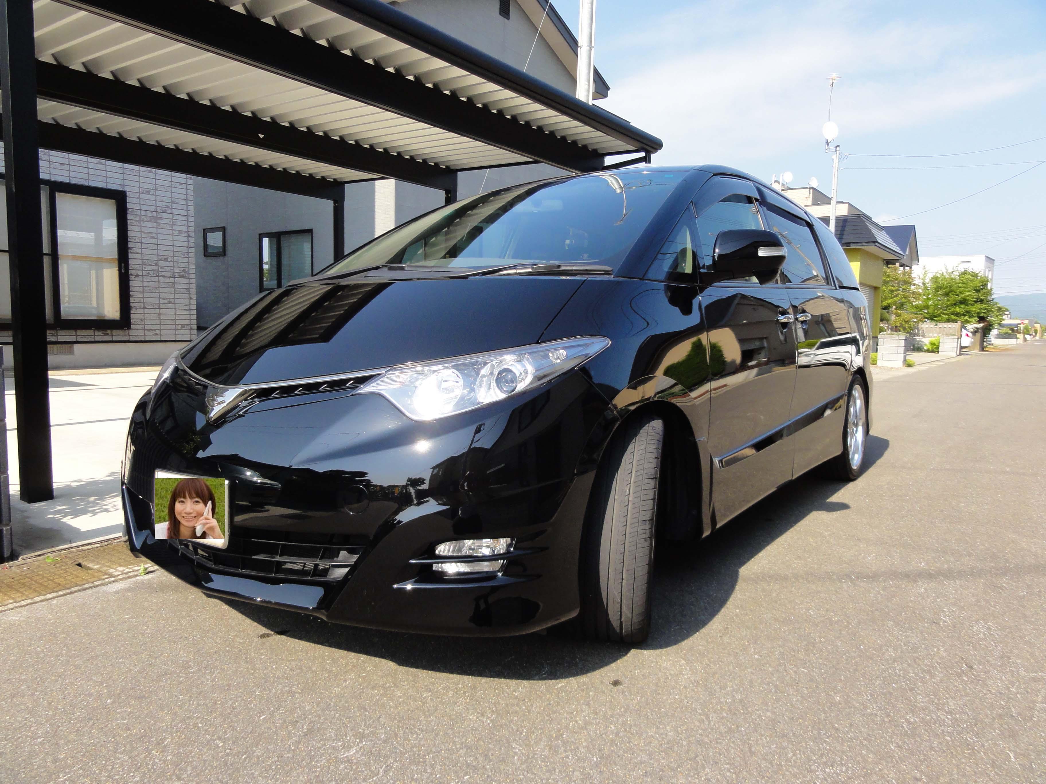 ガラスコーティング剤 車のコーティング トヨタ エスティマ アエラスGエディション  トヨタ202