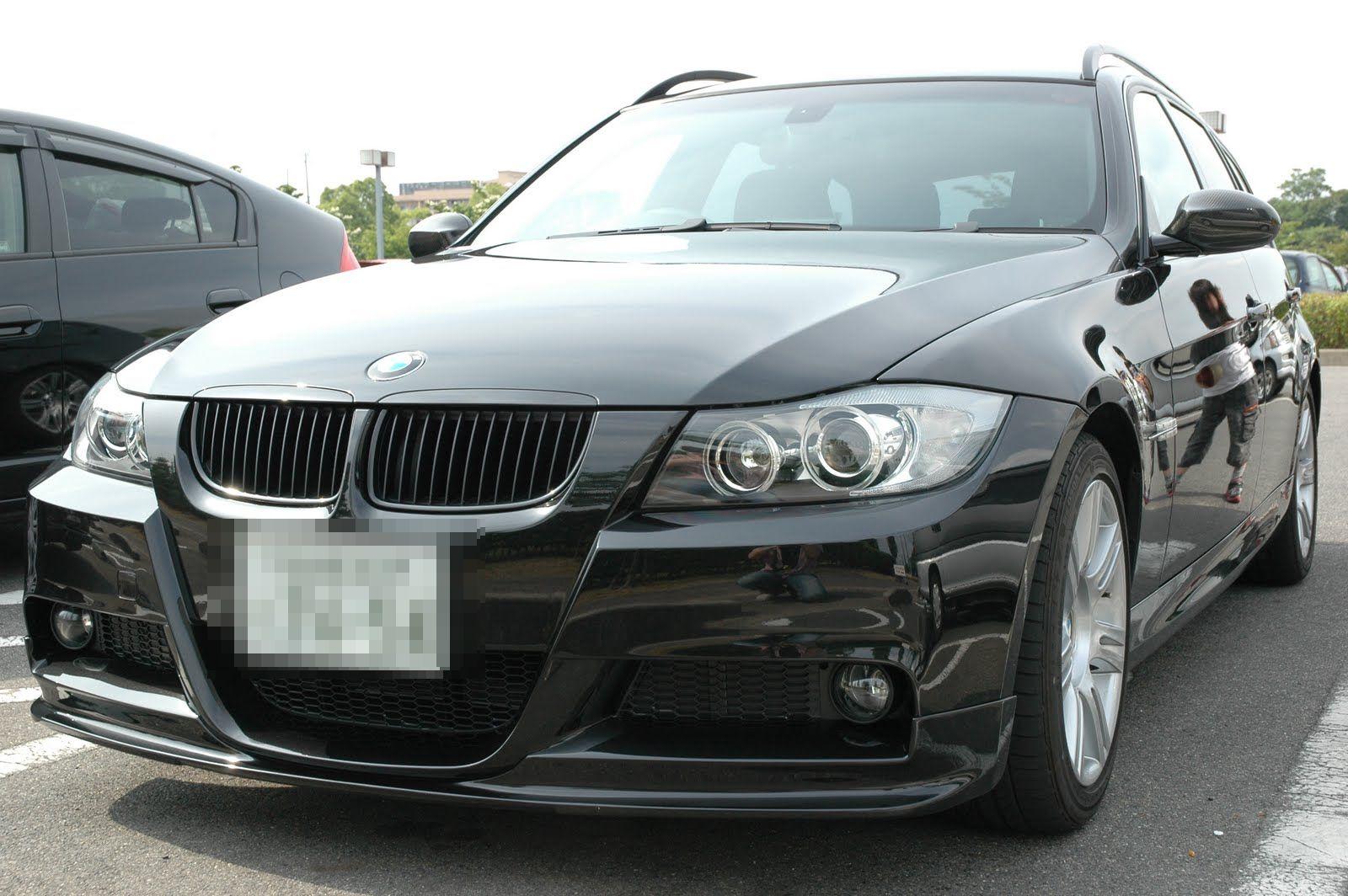 ガラスコーティング剤 車のコーティング BMW E91 ブラックパール