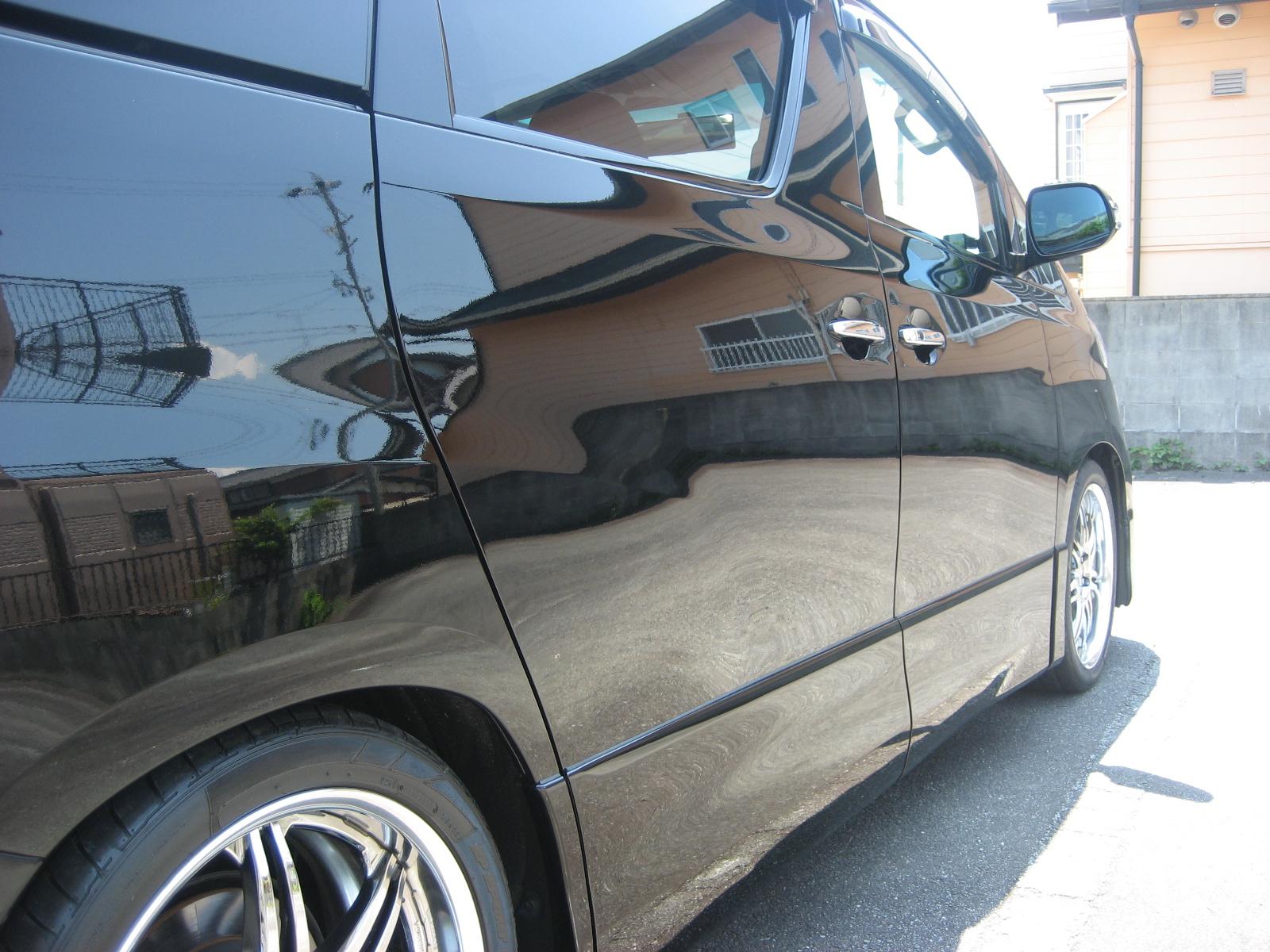 ガラスコーティング剤 車のコーティング トヨタ ヴェルファイア