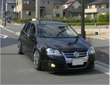 ガラスコーティング施工例 Volkswagen  ブラックパール