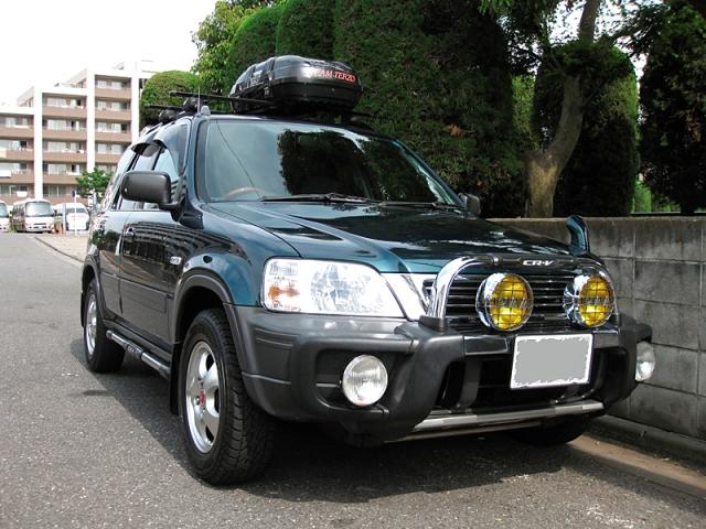 ガラスコーティング剤 車のコーティング ホンダ CR-V(RD1)