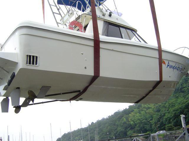 ガラスコーティング施工例 ボート