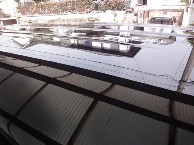 ガラスコーティングのハイブリッドナノガラスのゼウスを施工したホンダステップワゴン