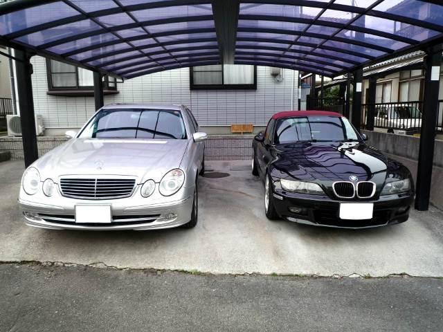 ガラスコーティング施工例 ベンツ BMW
