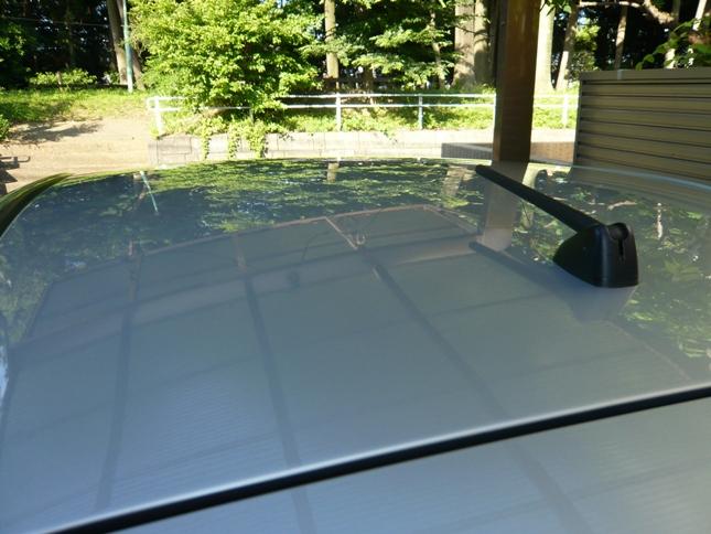 ガラスコーティングのハイブリッドナノガラスゼウスを施工したホンダフィット