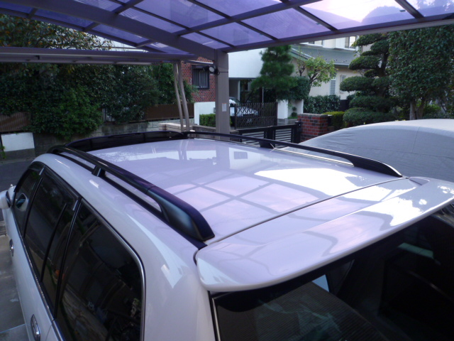 ガラスコーティングのハイブリッドナノガラスゼウスを施工したトヨタ クラウンエステート