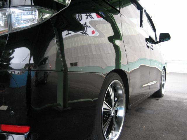 ガラスコーティング施工例 トヨタ ヴェルファイア