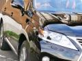 レクサスRXハイブリッドに車のボディガラスコーティング/スーパーゼウスを施工すると周囲の景色を鏡面のように美しく映し出します