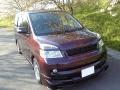 トヨタ VOXYにコーティングコンディショナーとファイングロスのブレンド施工をしたコーティング評価・レビュー・口コミ。