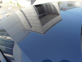 ガラスコーティング W−SHIELD 基本メンテナンス後のBMW3シリーズ鏡面状態2