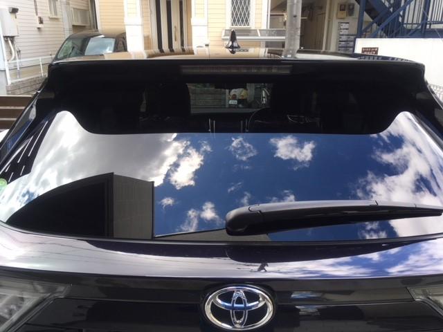 車のホイールに撥水・防汚性能に優れたホイールコーティングをトヨタ/ハリアーに施工した評判・人気・評価・レビュー・口コミ